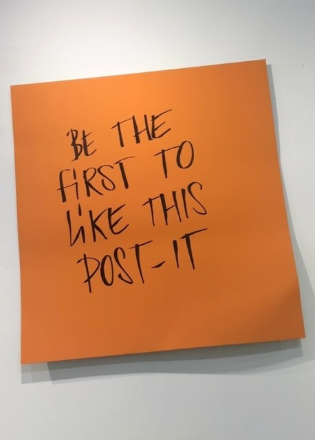 , 'Be the First,' 2015, Galleria Ca' d'Oro