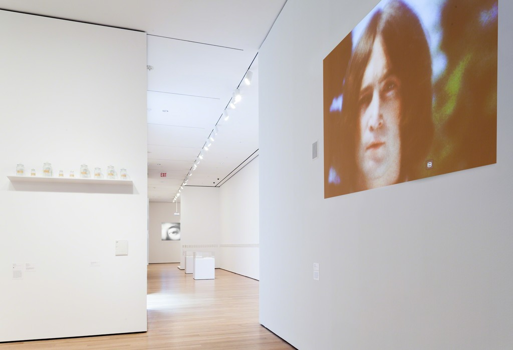 Installation view of Yoko Ono: One Woman Show, 1960-1971, The Museum of Modern Art, New York, May 17–September 7, 2015. © 2015 The Museum of Modern Art. Photo: Thomas Griesel.