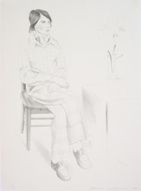 David Hockney, 'Yves Marie [Hervé]', 1974, Puccio Fine Art