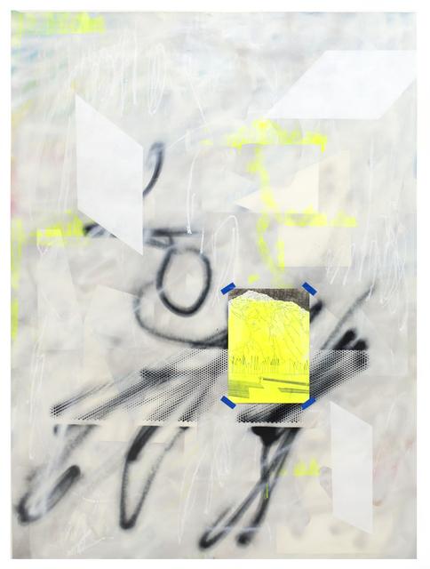 , 'across the lines of darker trees,' 2016, VILTIN Gallery