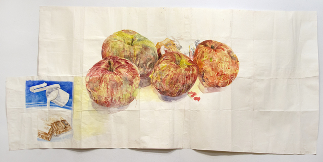 , 'Candybar and Apples,' 2012, Pierogi