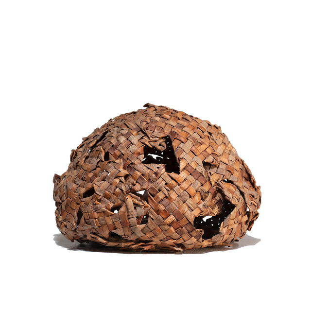 , 'Cedar Bark Sphere,' 1990, browngrotta arts