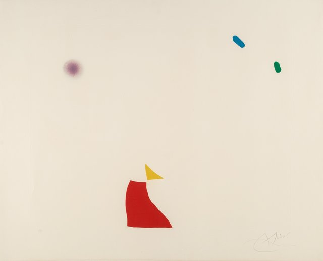 Joan Miró, 'Pl. 5, from Série Mallorca', 1973, Heritage Auctions