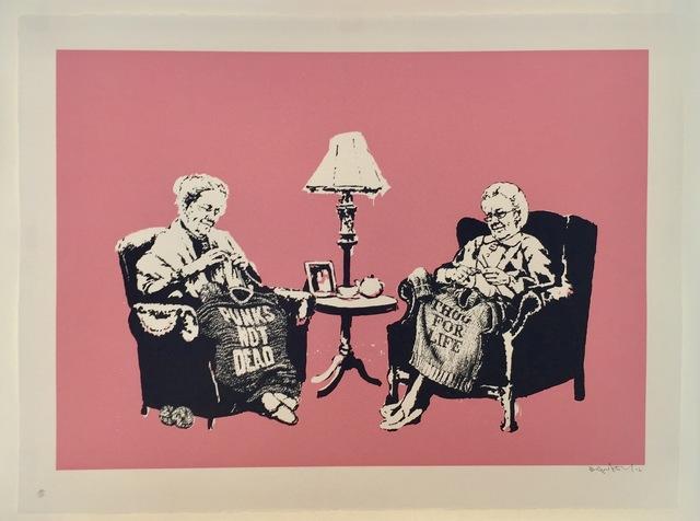Banksy, 'Grannies', 2006, Gregg Shienbaum Fine Art