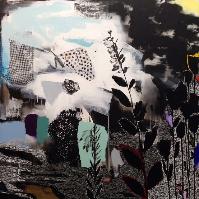 , 'Dreamscape (Black, White, Rainbow) II,' 2016, Rebecca Hossack Art Gallery