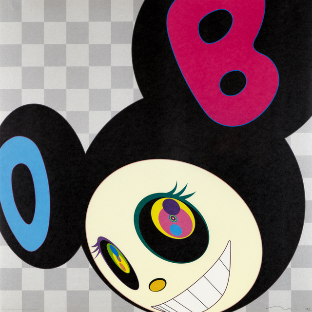 Takashi Murakami, 'And Then Black', 2006, Heather James Gallery Auction