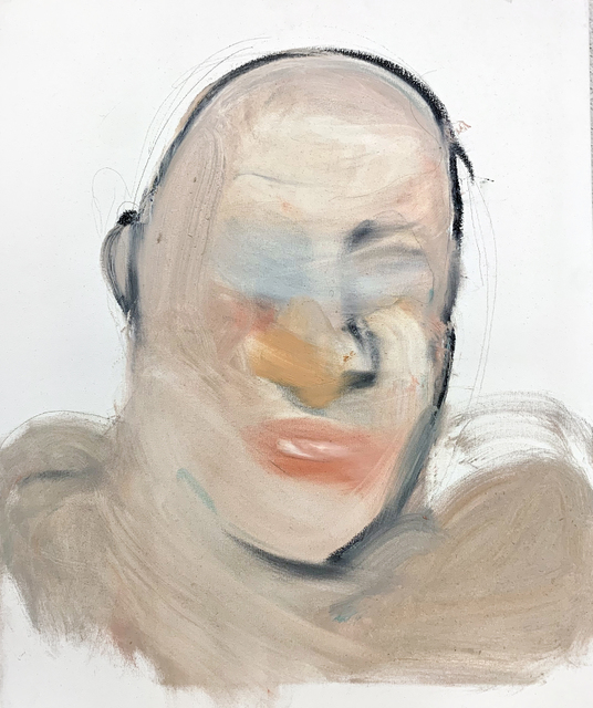 Mani Vertigo, 'Study of Your Face', 2018, Painting, Oil on canvas, Galleri Duerr