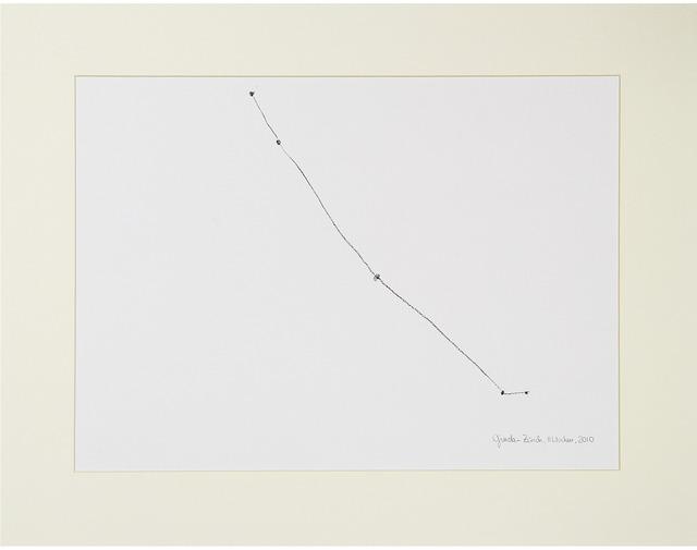 , 'Desire Lines / Ginda - Zurich,' 2013, A|B|C ontemporary