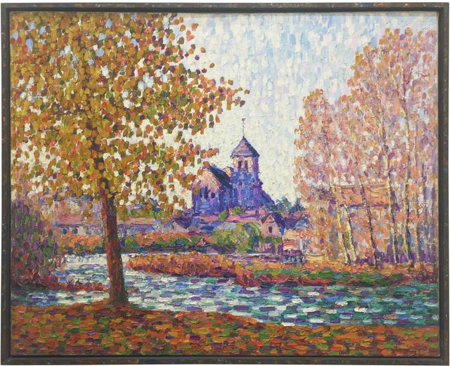 Francis Picabia, 'L'église de Montigny, effet d'automne', 1908, Galerie Knoell, Basel