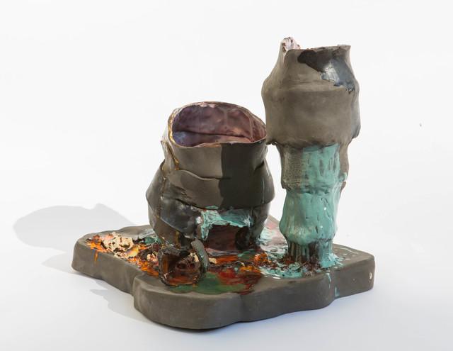 Isa Melsheimer, 'Piazza V', 2019, Galerie nächst St. Stephan Rosemarie Schwarzwälder