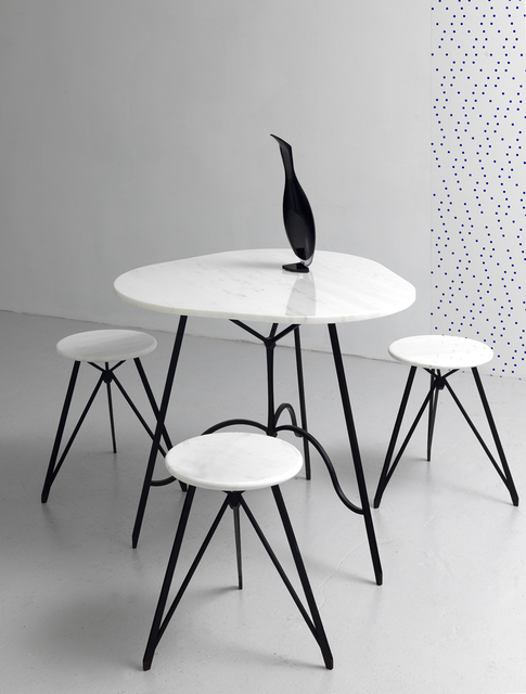 , 'Untitled (Cafe Table with Stools),' 2014, GRIMM