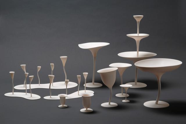 Andrea Branzi, 'Louis XXI, Porcelaine Humaine (set of 11 porcelains)', 2010, Design/Decorative Art, Porcelain, Mouvements Modernes