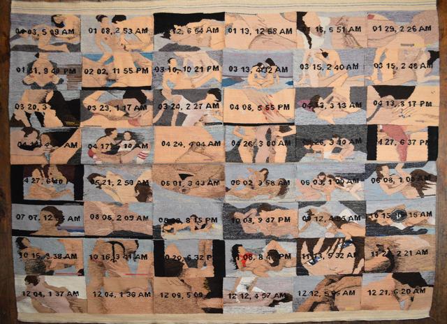 , '2014 Porn Grid,' 2015, Myla Dalbesio