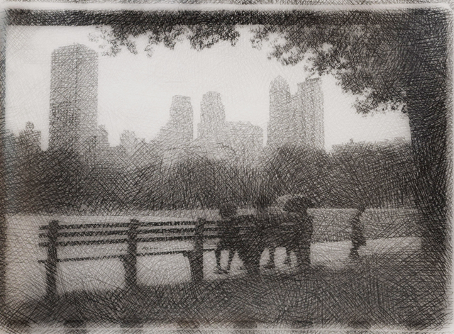 , 'Central Park Infra-Red II,' 2007, Fountain House Gallery