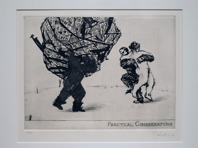 William Kentridge, 'Practical Considerations', 1991, Galerie Sabine Knust