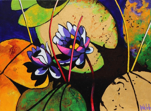 , 'Waterlily Symphony III,' , Long-Sharp Gallery