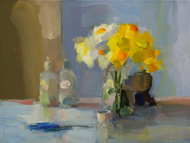 Christine Lafuente, 'Daffodils, Bottles, and Scissors', 2017, Somerville Manning Gallery