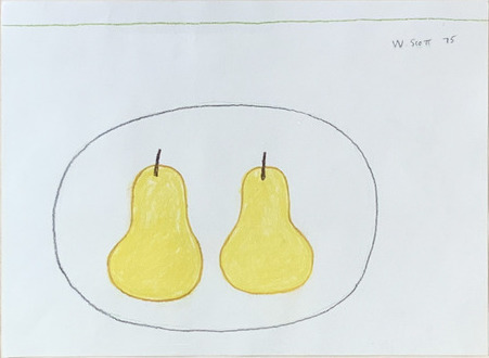 William Scott (1913-1989), 'Two Pears', 1975, Dellasposa