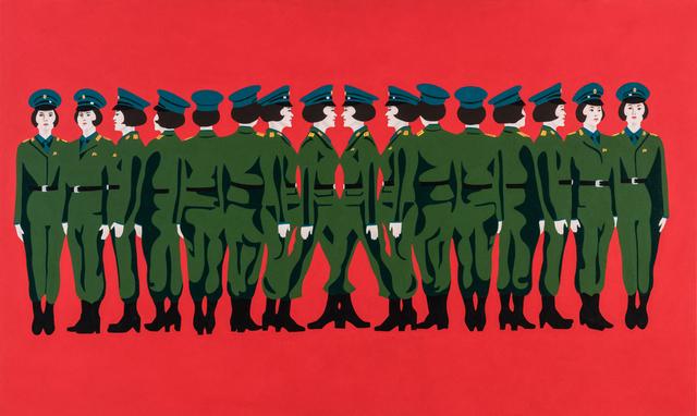 Mina Cheon, 'Line up Kim Il Soon II', 2015, Ethan Cohen New York