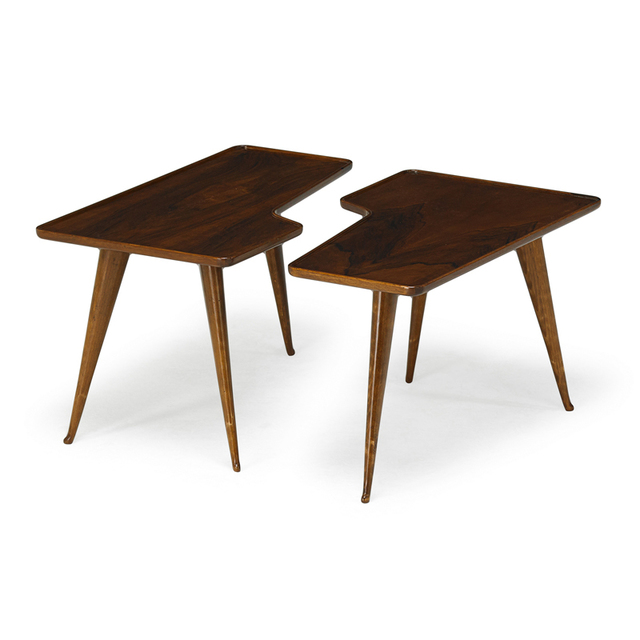 Gio Ponti, 'Pair Of Occasional Tables, Italy', 1940s, Rago/Wright