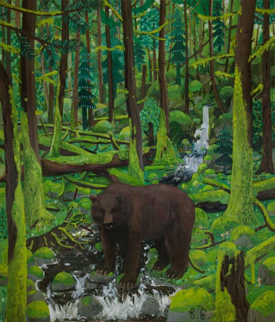 Ben Sledsens, 'Bear in the Deep Woods', 2018, NINO MIER GALLERY