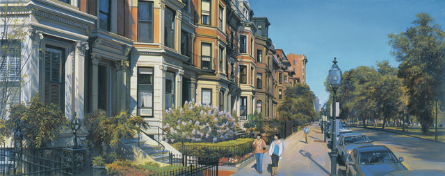 , 'On Commonwealth Ave.,' 2009, Vose Galleries