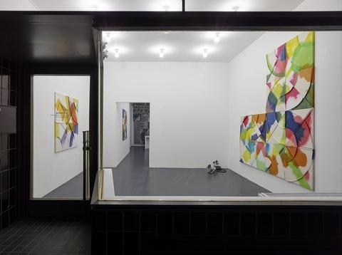 Installation view of Exegetically Impossible @ Natalia Hug, Cologne