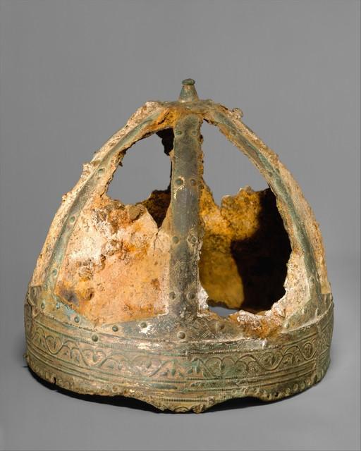 Unknown Designer, 'Helmet (Spangenhelm)', 6th–7th century, The Metropolitan Museum of Art