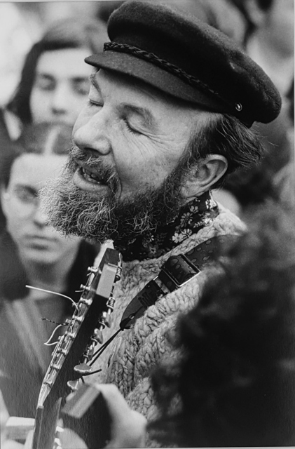 , 'Pop singer, Pete SEEGER, NY 1970,' 1970, Galerie Arcturus