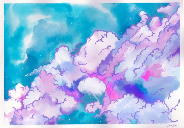 , 'Fantasy: Clouds,' 2018, BBAM! Gallery
