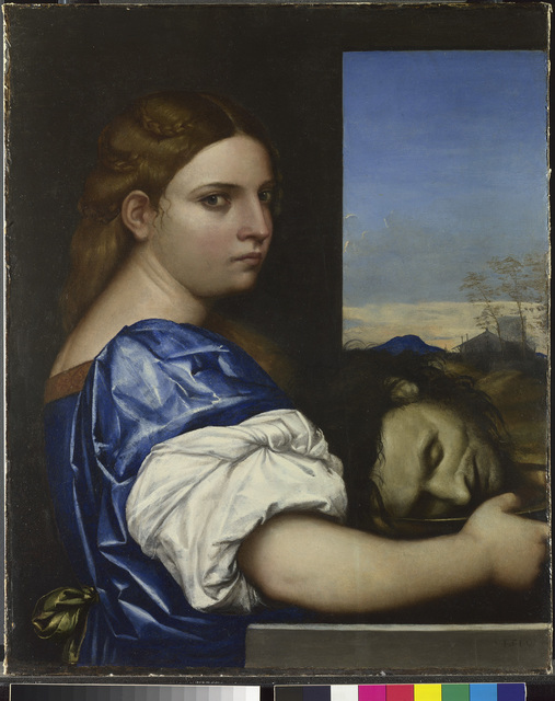 , 'Judith (or Salome ?),' 1510, The National Gallery, London