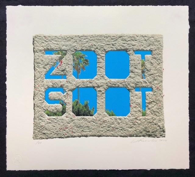 Ed Ruscha, 'Zoot Soot (Dedicated to the memory of Richard Duardo)', 2019, Pop Fine Art
