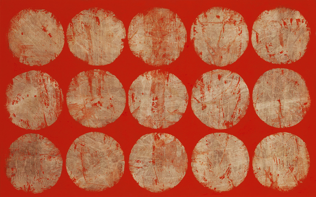 Jaume Amigó, 'The water lilies', ca. 2019, Painting, Acrylic on canvas, Galeria Jordi Barnadas