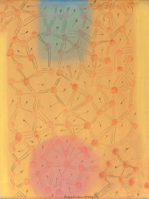 , 'Ohne Titel (Pole und Struktur),' 1974, Bode Gallery