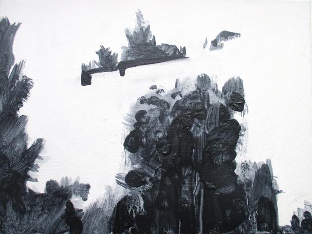 Milda Gailiūtė, 'Sleeping District', 2016, Painting, Oil on canvas, Meno parkas
