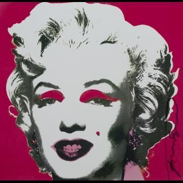 Andy Warhol, 'Marilyn Monroe Castelli Graphics Invitation', 1981, Print, Offset lithograph in colours on glossy paper, Tate Ward Auctions