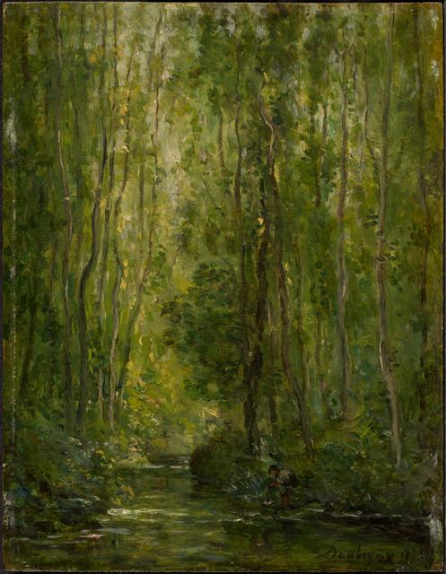 Charles François Daubigny, 'Woodland Scene', ca. 1873, Clark Art Institute