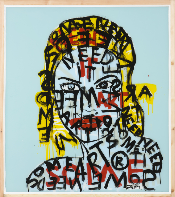 , 'Some Need it Art,' 2017, Galerie Schimming