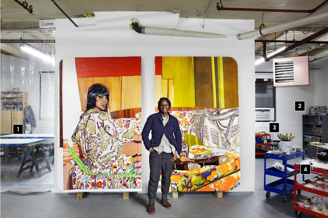 , 'In the Studio with Mickalene Thomas,' , Artsy Editorial