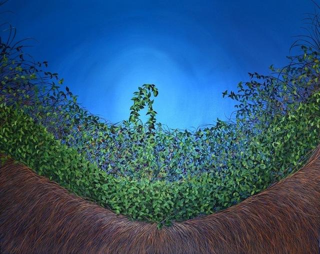 , 'Cerulean Thicket,' 2012, Susan Eley Fine Art
