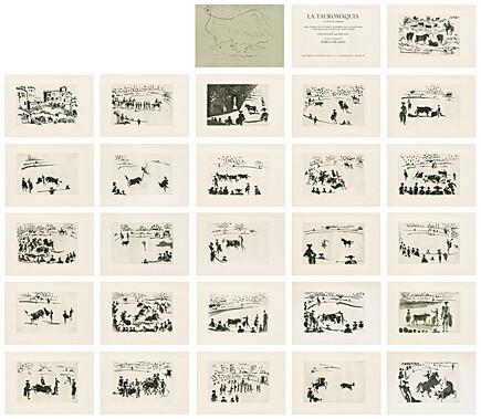 , 'La Tauromaquia o Arte de torear (José Delgado alias Pepe Illo),' 1959, Galerie Boisseree