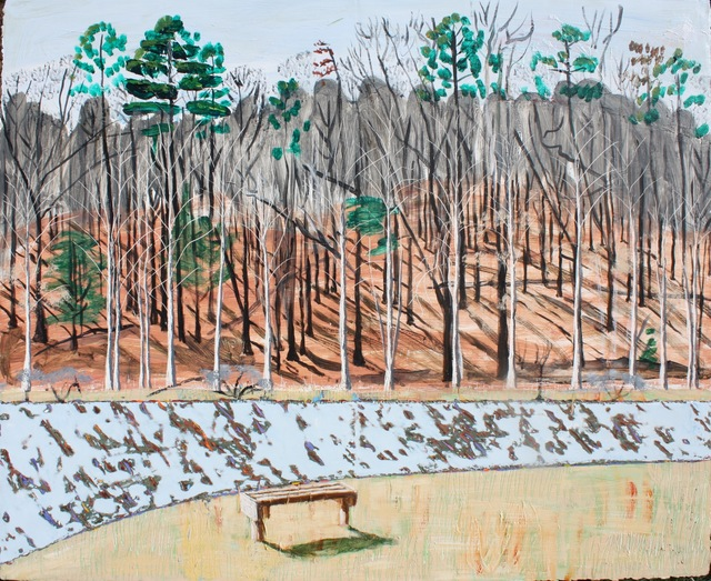 , 'Bench at Walnut Creek Park,' 2018, Les Yeux du Monde Gallery