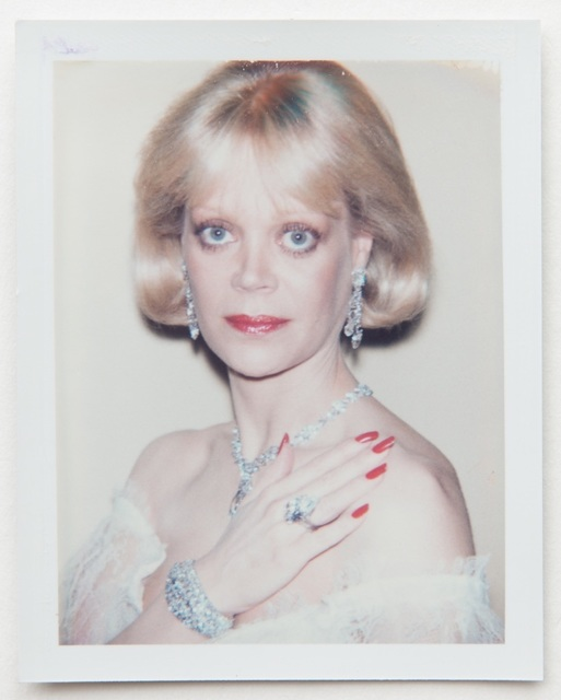 Andy Warhol, 'Andy Warhol, Polaroid Portrait of Candy Spelling', Hedges Projects