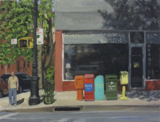 Ella Yang, 'Sidewalk Boxes', 2016, 440 Gallery