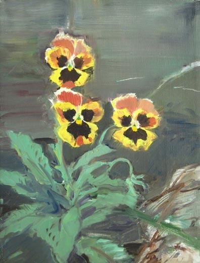 , 'Untitled #247 (Pansies),' 1979, Tibor de Nagy