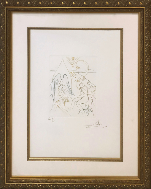 Salvador Dalí, 'L'ARBE DE VIE (THE TREE OF LIFE)', 1974, Print, ENGRAVING IN COLORS, Gallery Art