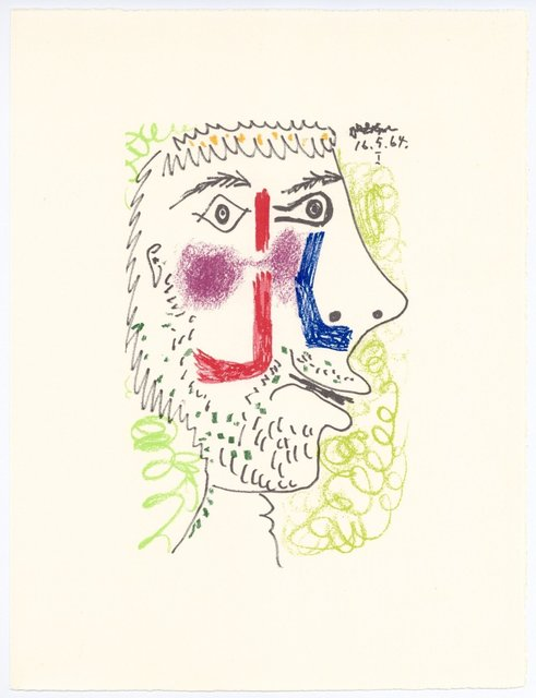 Pablo Picasso, 'Le Gout du Bonheur', 1970, Print, Lithograph, artrepublic