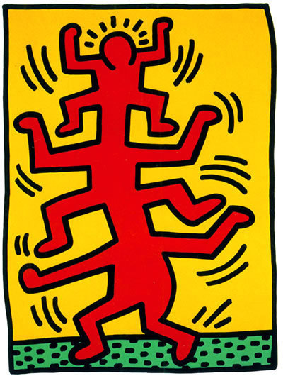 Keith Haring, 'Growing #1', 1988, Dorian Grey Projects