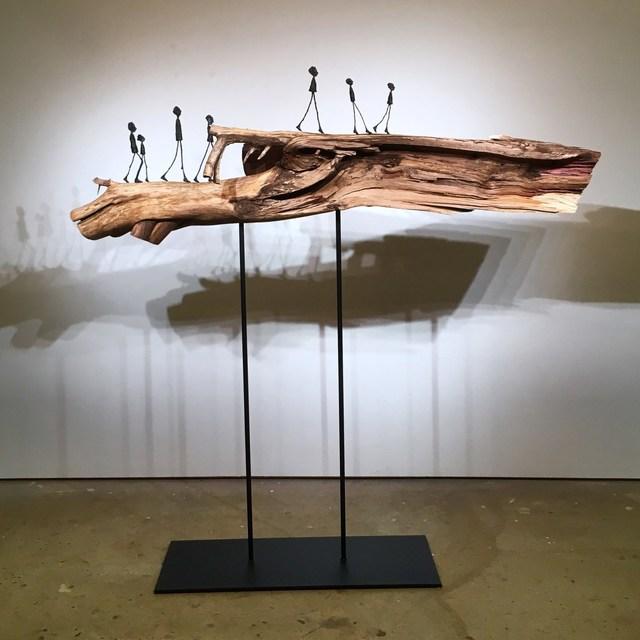 , 'The Interwoven Dragon,' 2017, M.A. Doran Gallery