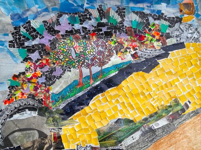 , 'A Dream of Yellow Brick Roads, 40 Acres and a Fucking Mule,' 2017, Morton Fine Art